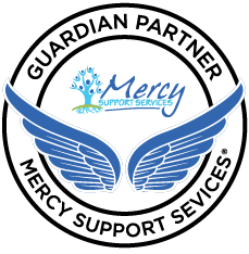 guardian logo with wings