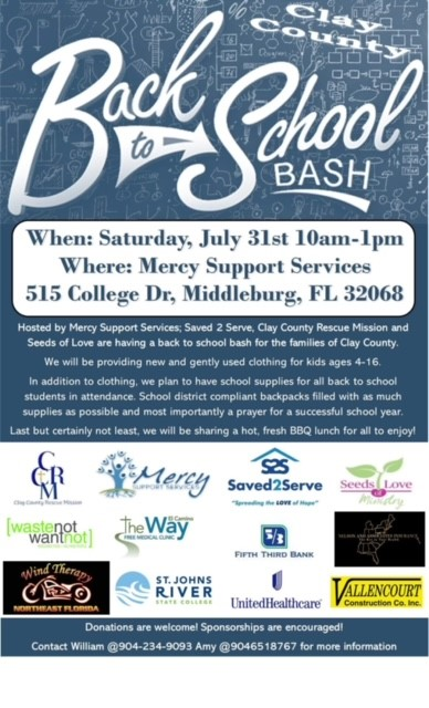 Back to School Outreach 7.31.21